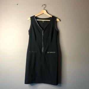 Nine West black dress zip up 4